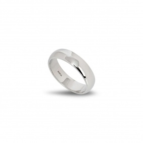 Platinum Wedding Band Size Q
